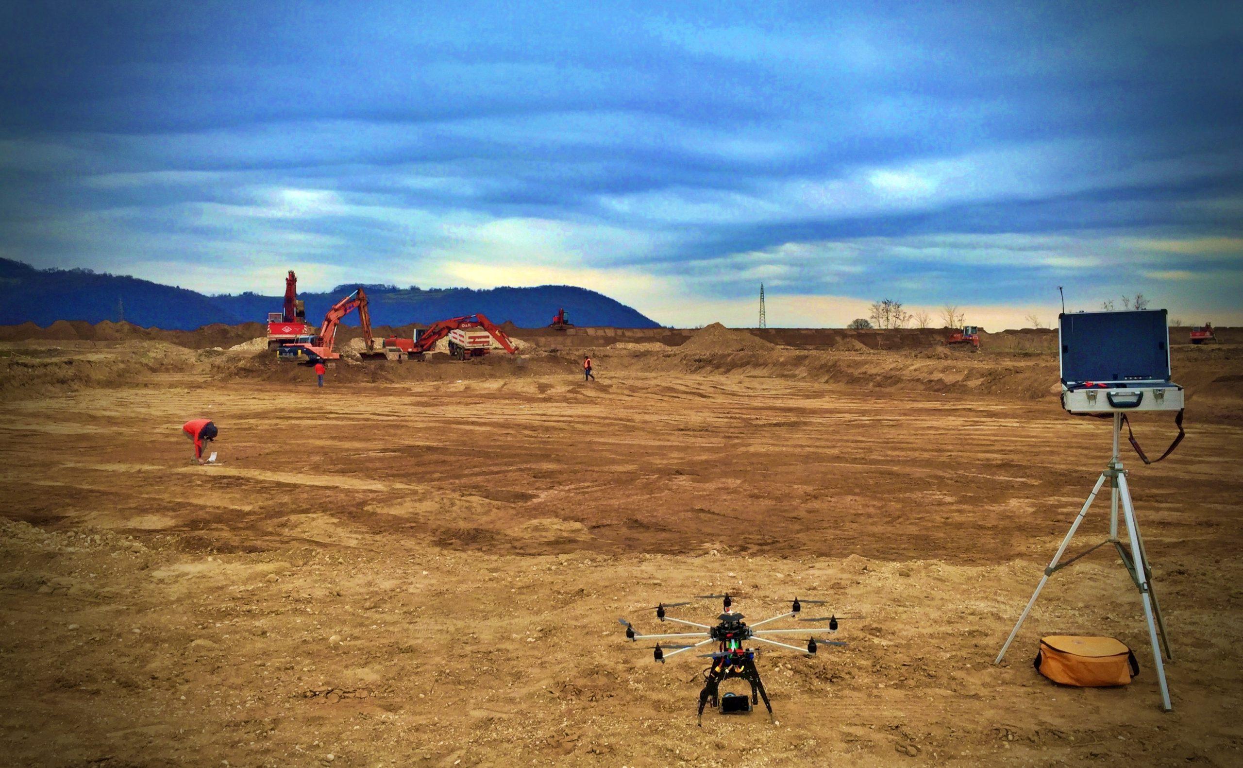 rilievi topografici con drone